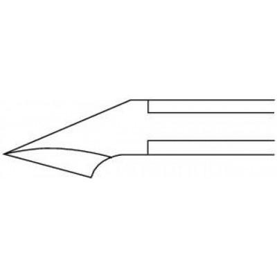 Pince à ongles oblique - coupe droite - 11,5 cm Ruck