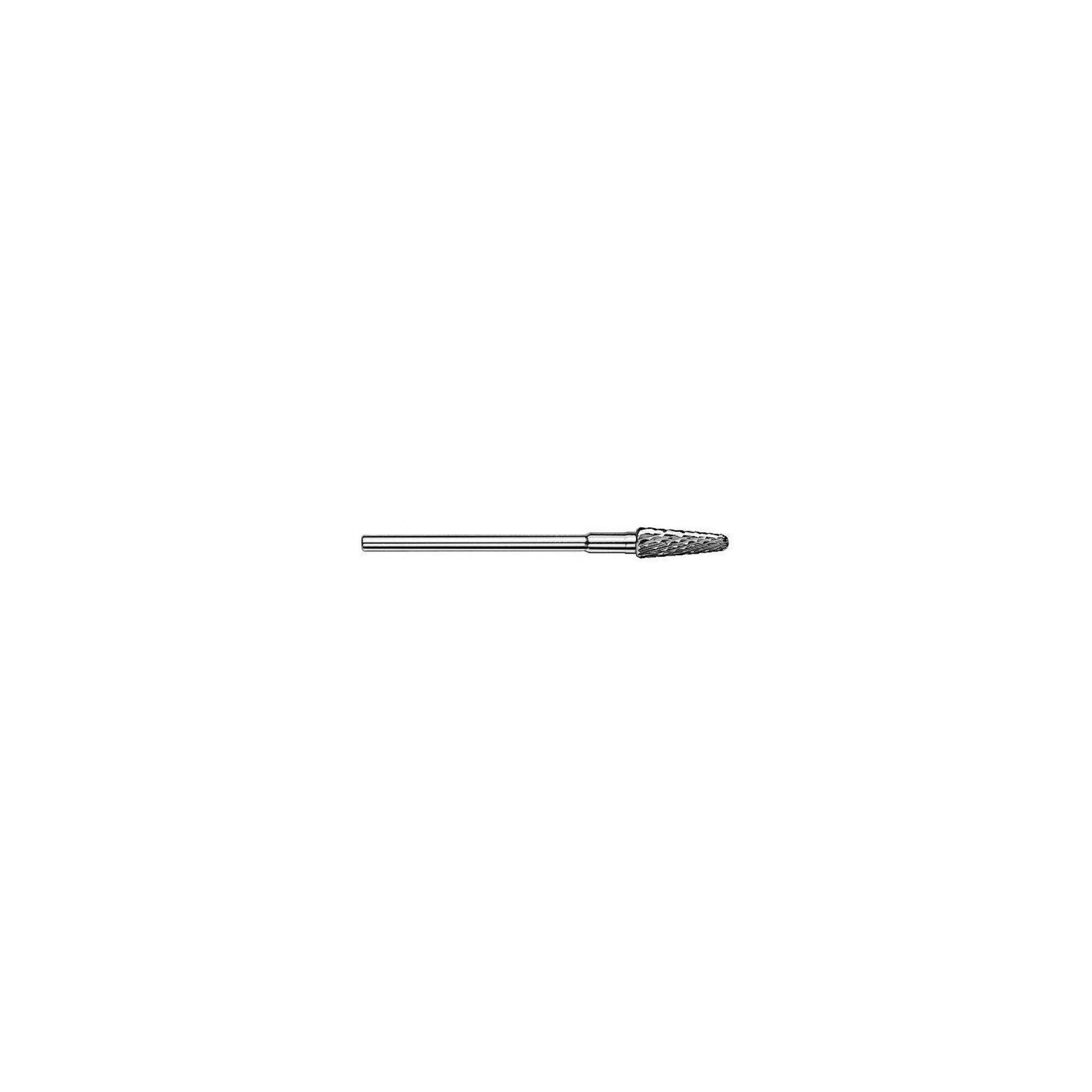 Fraise Busch Carbure de Tungstène - Spécial gaucher - Denture moyenne - Finition des surfaces des ongles avant polissage - ø4,5m
