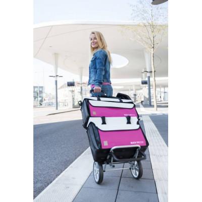 Ensemble Mallettes de transport pour Domicile Blanc/Rose Ruck