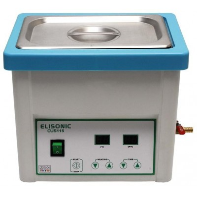 Bac à ultrasons ELISONIC - 4 litres avec vidange