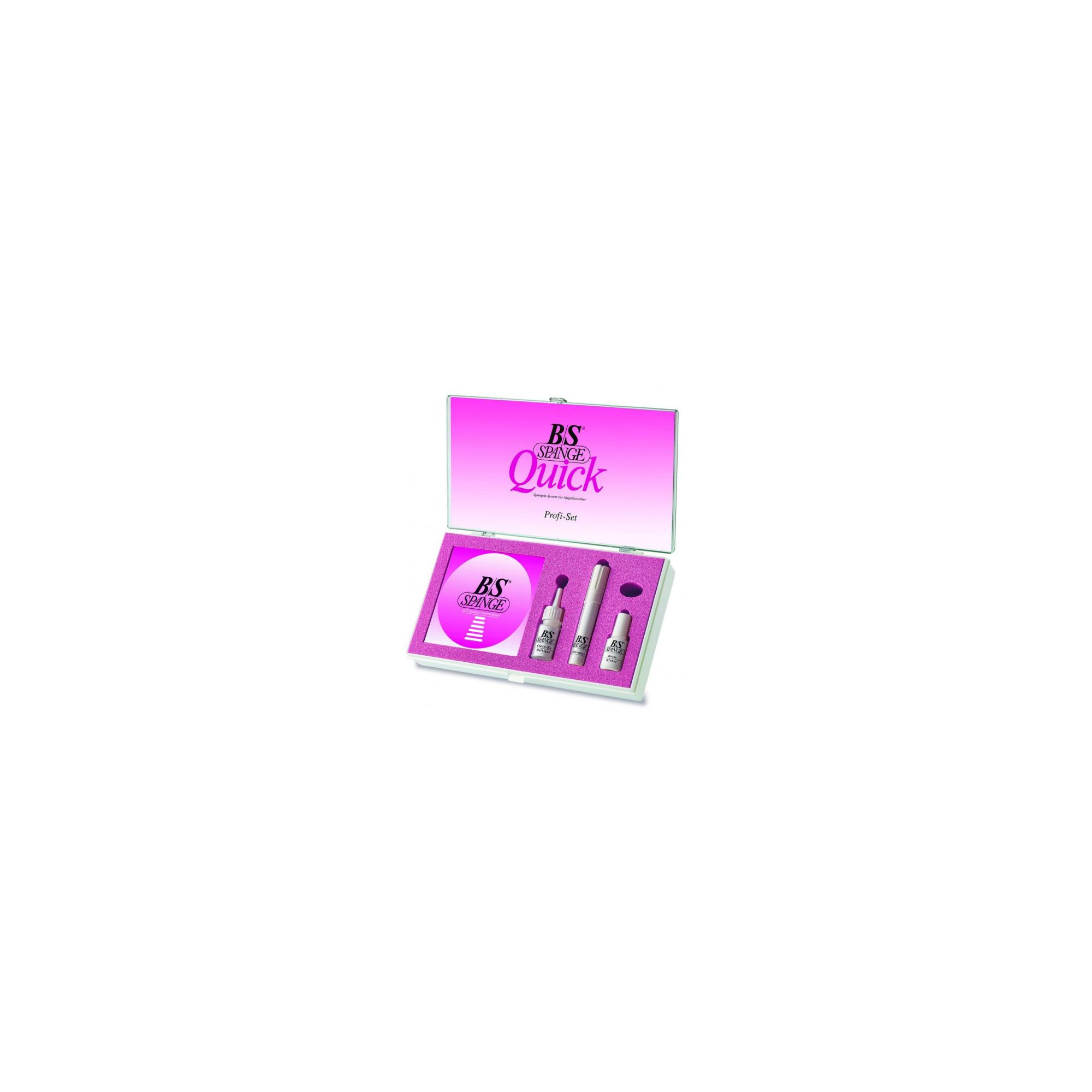 Boîte professionnelle B/S Quick - Profi Set - x30 languettes B/S Quick