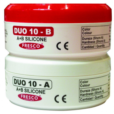 Silicones bi-composants polyaddition Fresco Shore 10 Moyen