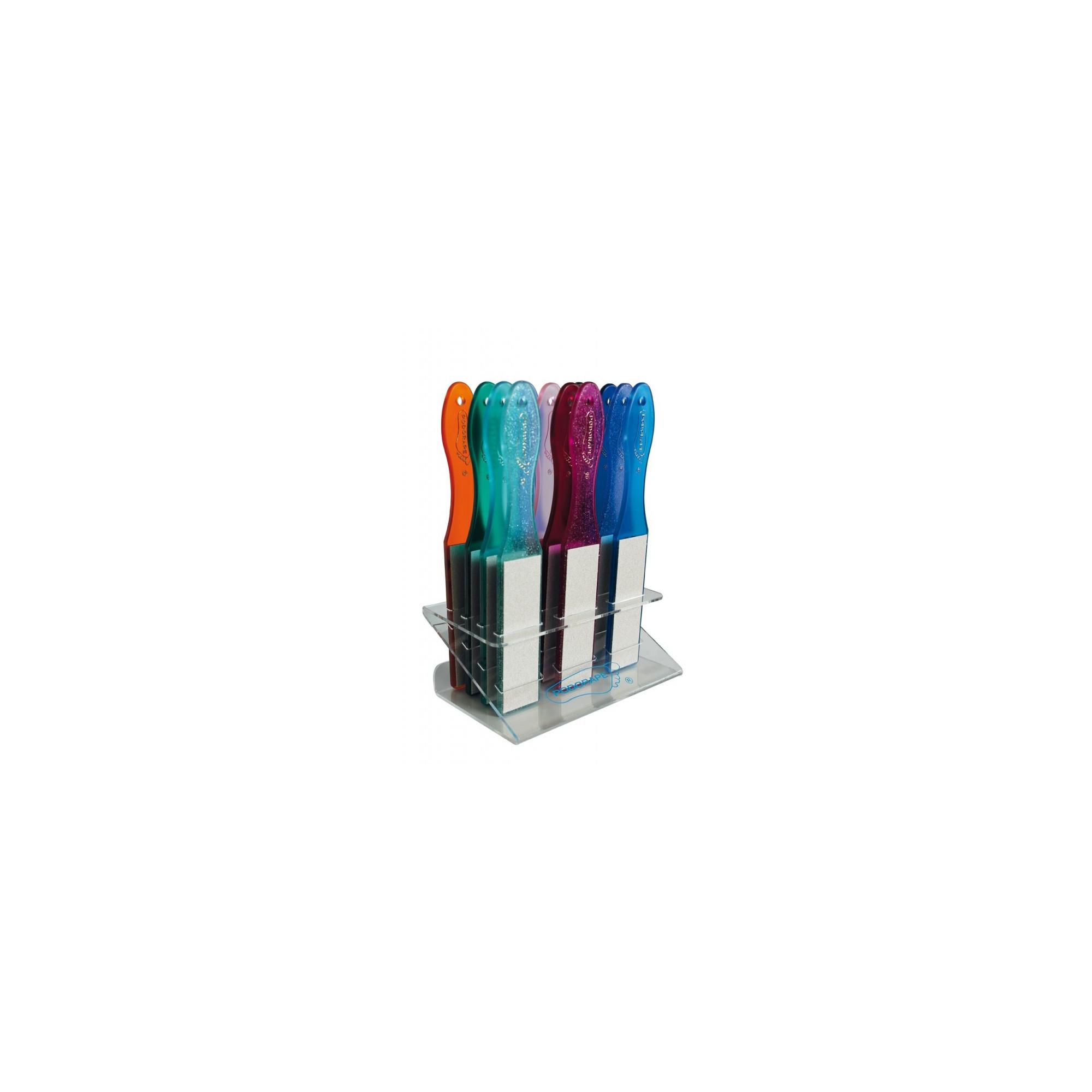 Présentoir Podorape - Multicolore - 12 Râpes