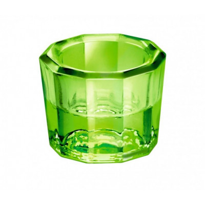 Godet en verre transparent pour bonding