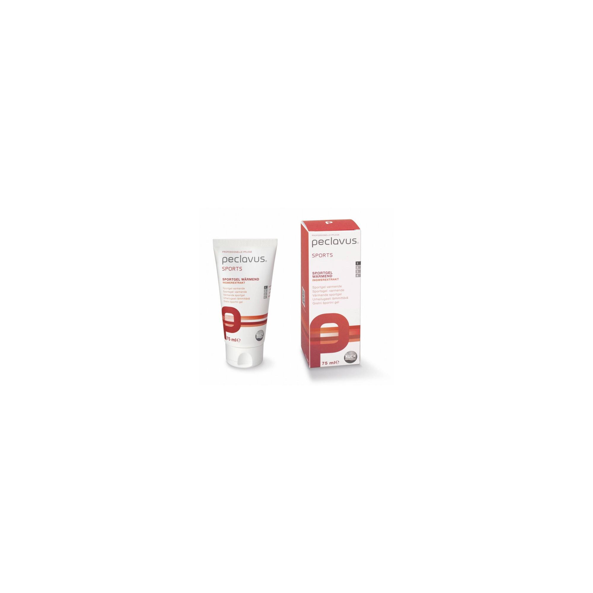 Gel Stimulant - Gamme Sport - PECLAVUS