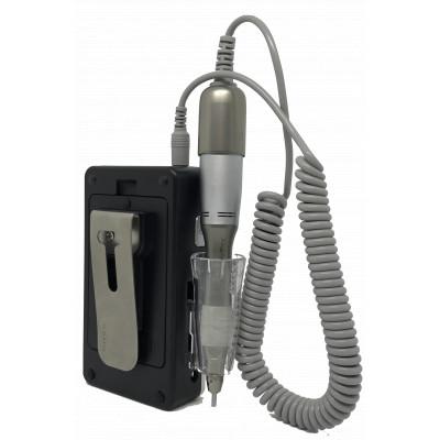 Micromoteur portable K38 noir avec Clip 30 000 tr/min avec pièce à main démontable