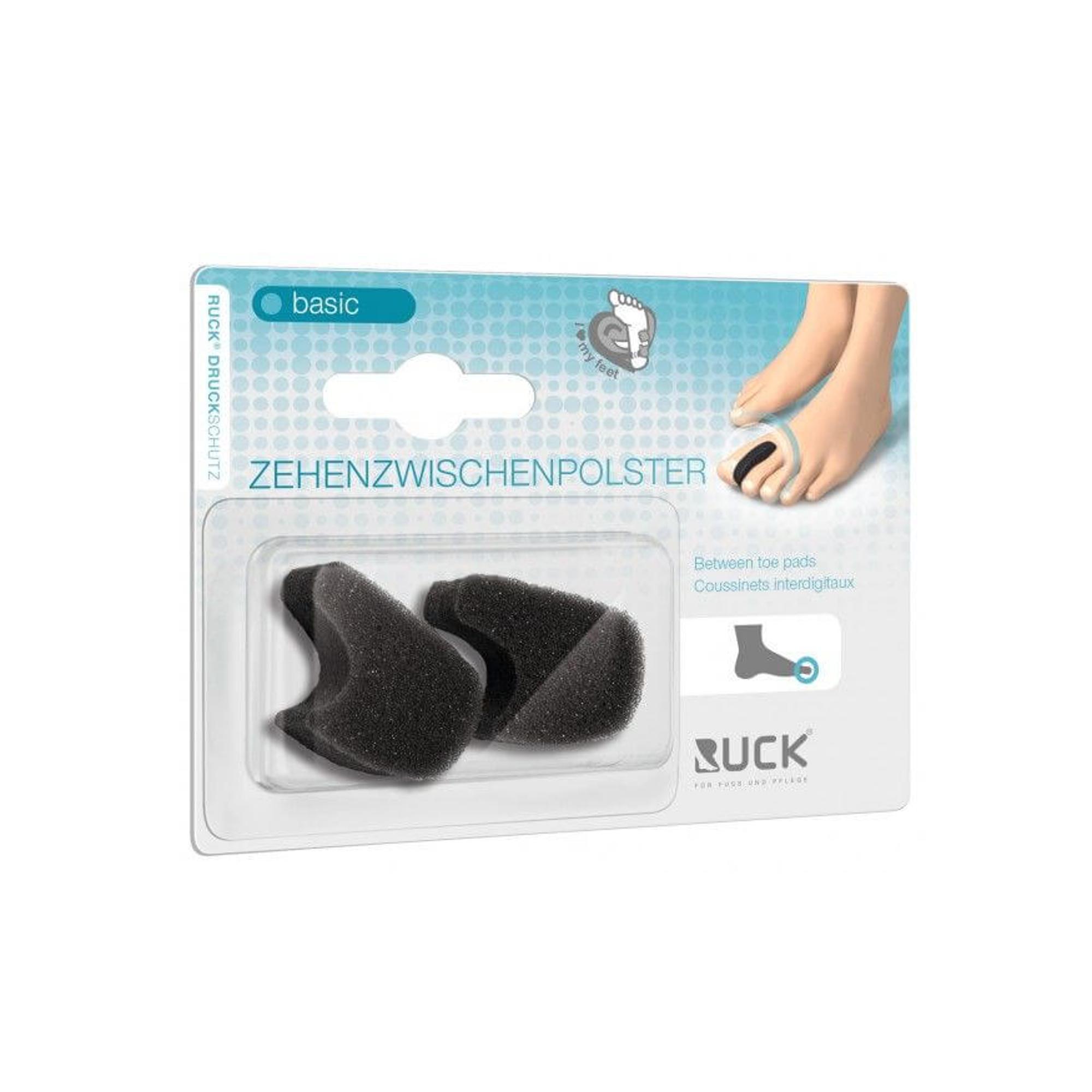 Séparateur d'orteils en mousse souple - 2 ou 10 pièces - 4 tailles disponibles - Ruck