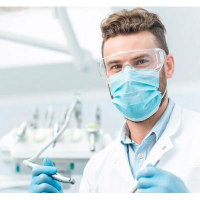 Sachet de 10 masques chirurgicaux haute filtration - Fabrication française