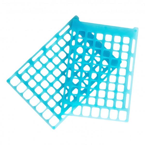 Paire de grilles en plastique