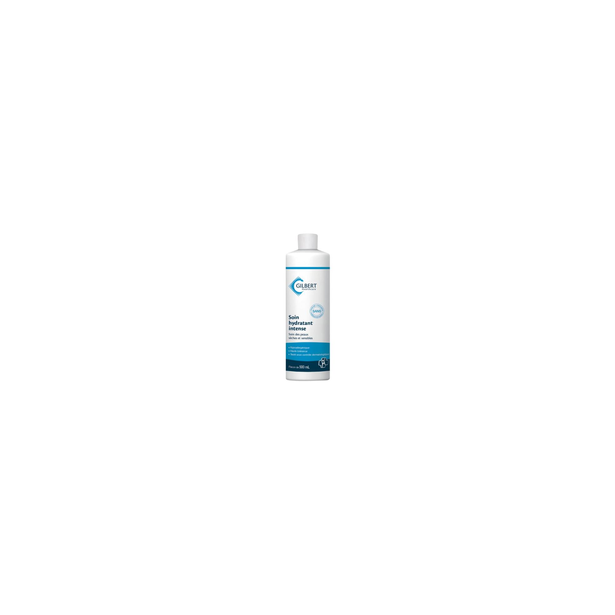 Crème hydratante intense - 500 ml - Flacon pompe