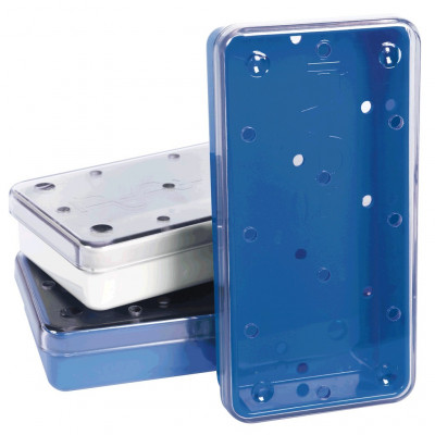 Boîte à instruments perforée Autoclavable Polybox