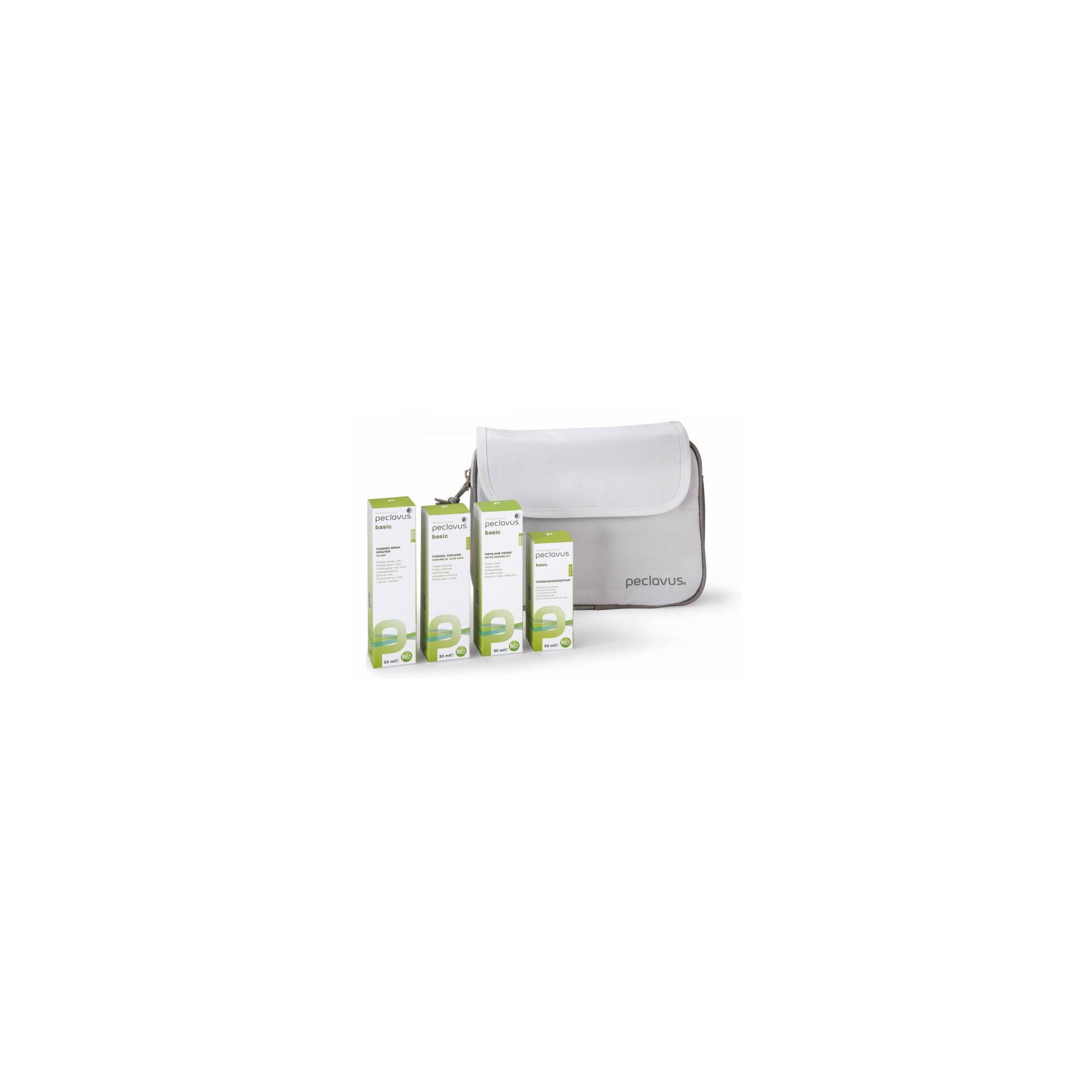Kit Gamme Basic - 4 Soins + Pochettes - Peclavus
