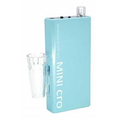 Mini-cro - Micromoteur portable - Vert menthe - 30 000 tr/min - Avec pièce à main démontable