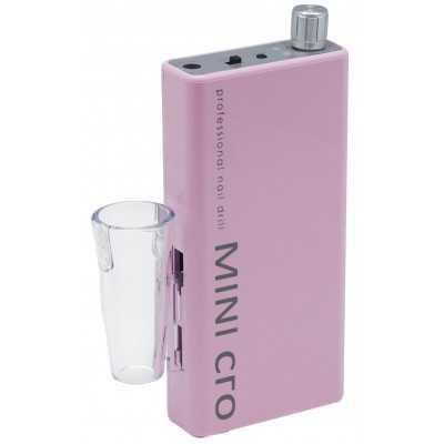 Mini-cro - Micromoteur portable - Rose - 30 000 tr/min - Avec pièce à main démontable