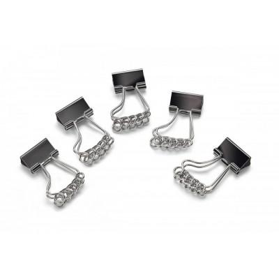 5 Pinces clip pour documents en forme de pied