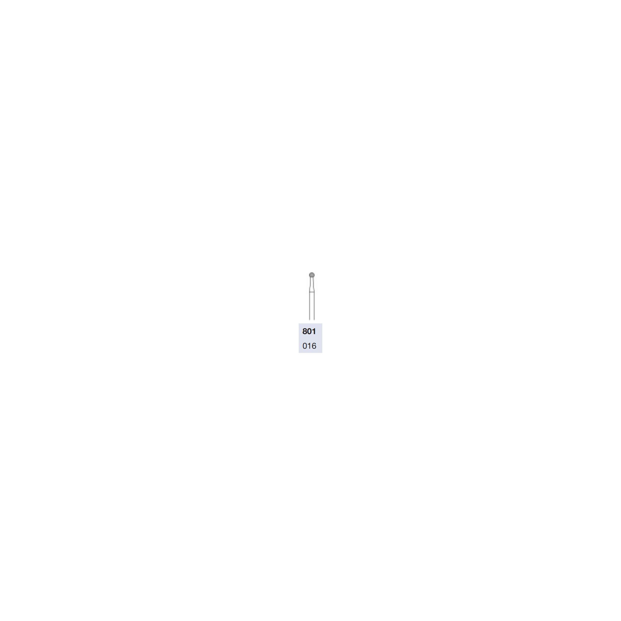 Fraise 16mm pour turbine diamantée pour énucléation des cors