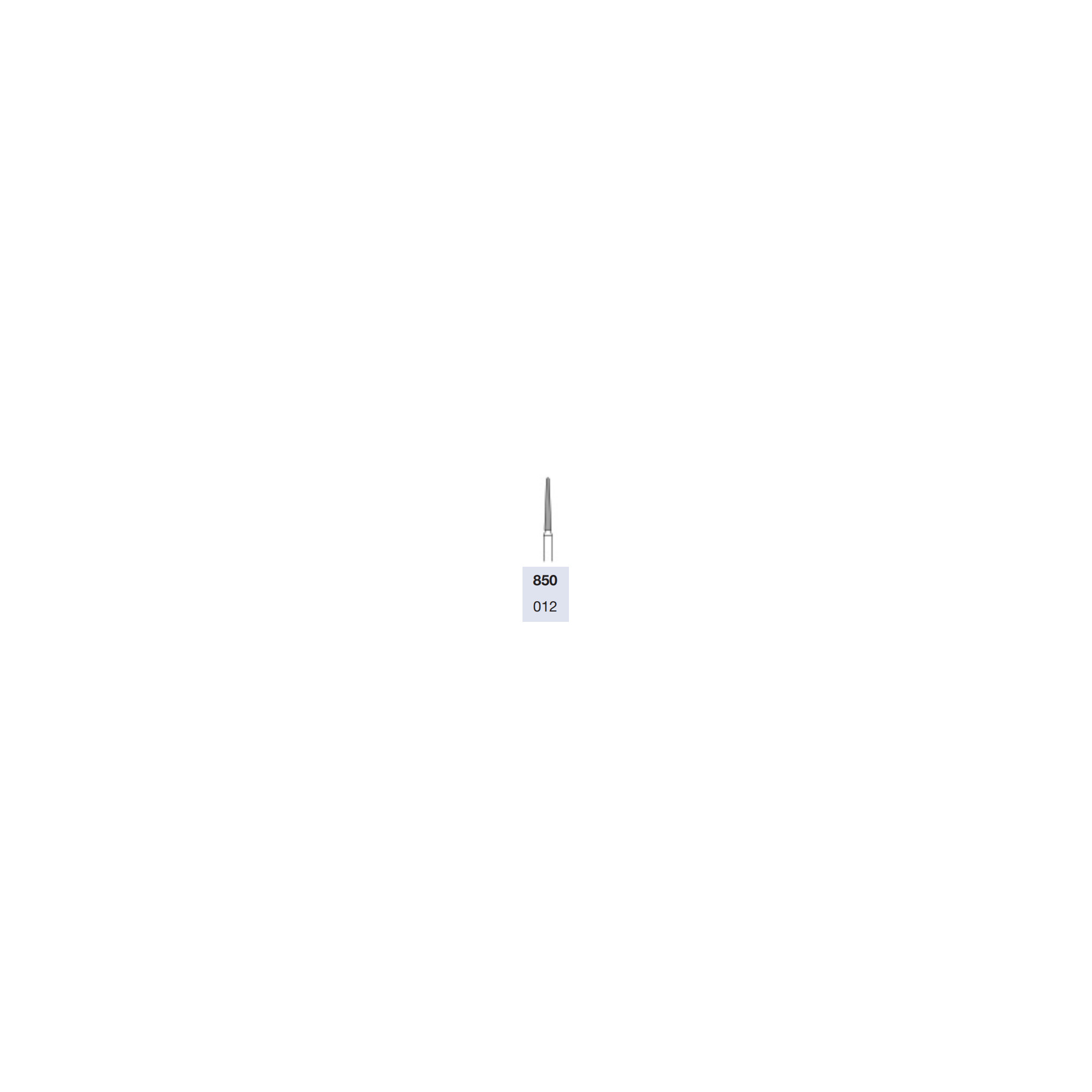 Fraise 12mm pour turbine diamantée lissage des ongles et peaux