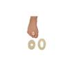 Bandages feutre creux adhésifs - Forme ovale - Fresco