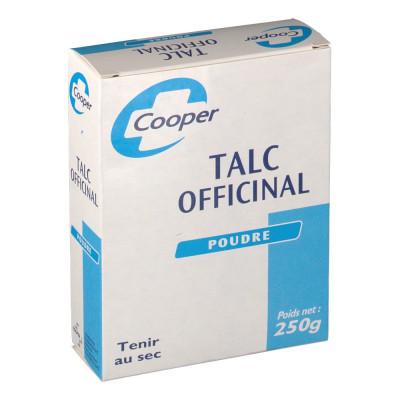 Talc Officinal poudre 250g - Cooper