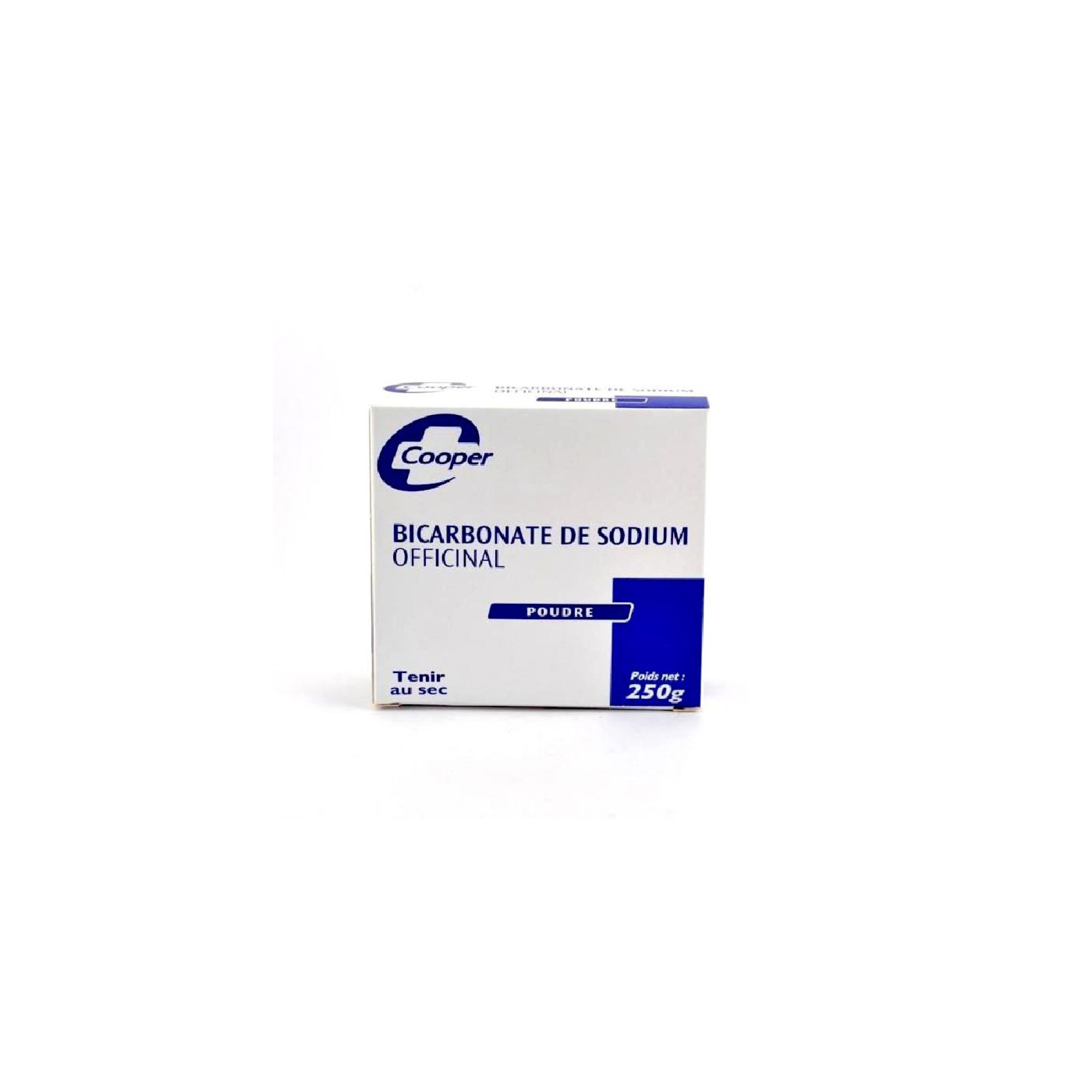 Bicarbonate de sodium officinal poudre 250g