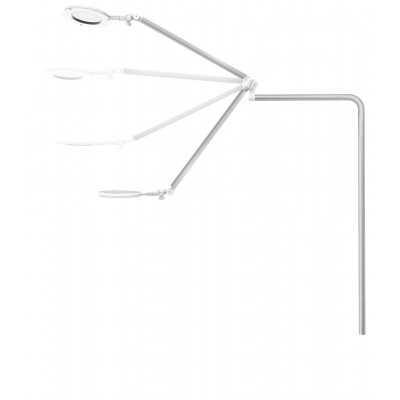 Lampe loupe intégré - Circle XL Professionnal Blanc