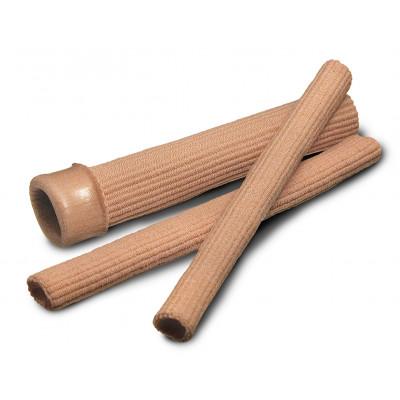 Protection pour orteils - Tuyau flexible à découper - en tissu et en gel