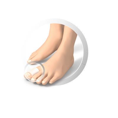 Protection pour orteils en gel - Anneaux - 3 diamètres disponibles - 2 pièces