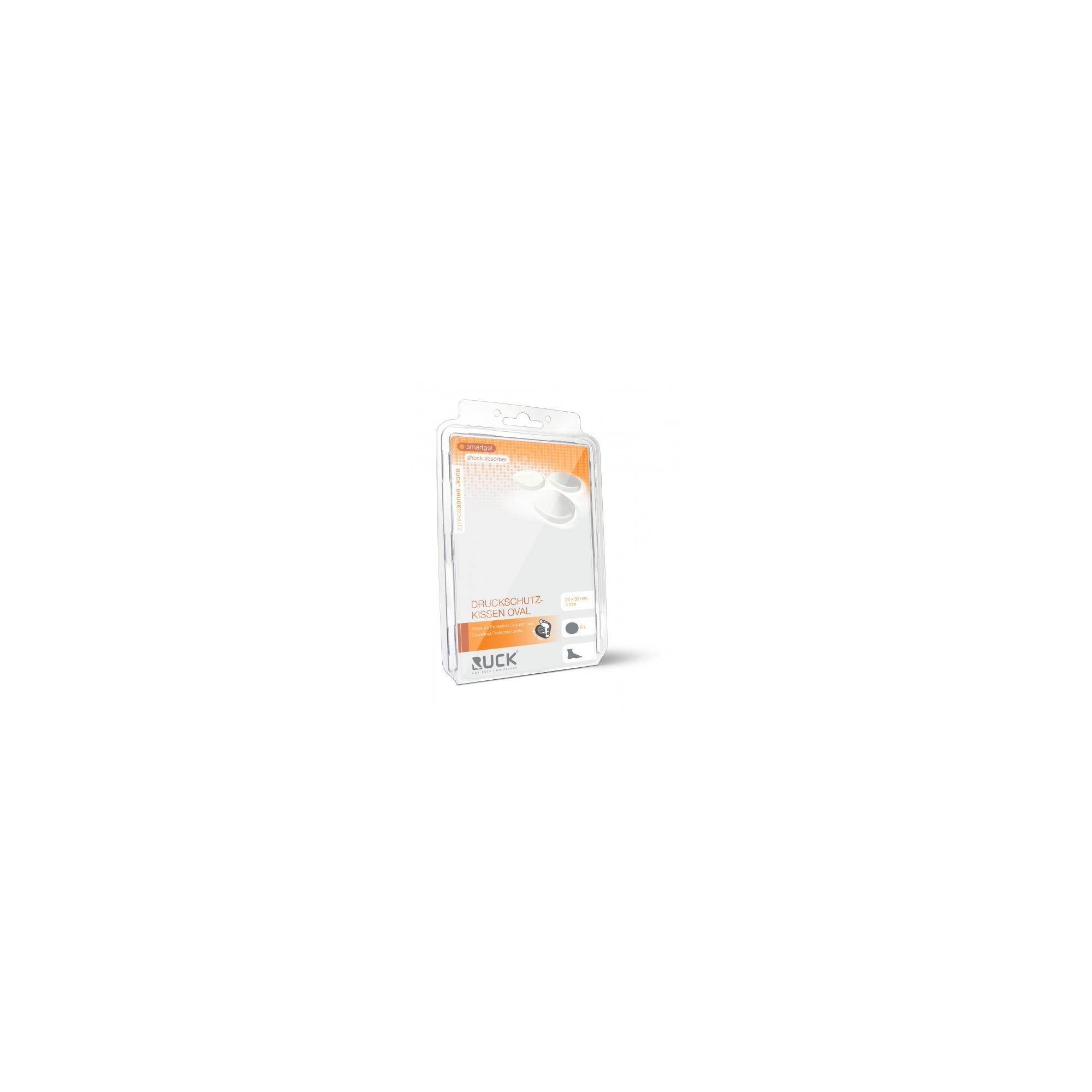 Protection plaque smartgel auto-adhésive - forme ovale - 6 pièces