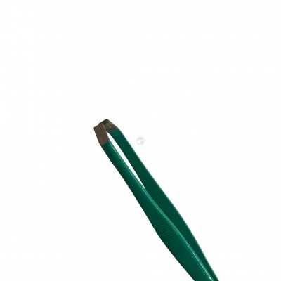Pince à épiler 9 cm Inox Crabe Turquoise 6 - ELOI Podologie