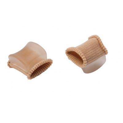 Écarteur d'orteil - Tissu et gel - 1 paire
