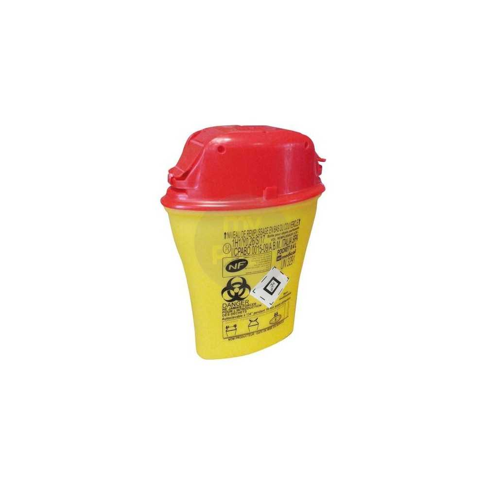 Bac récupération de lames - 0,45 L