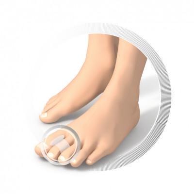 Protection en silicone pour soulager le gros orteil - 2 pièces
