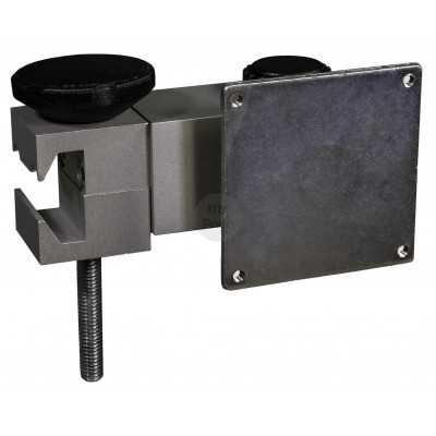 Étau pour rails médicaux départ horizontal de la lampe avec plaque d'adaptation - LID