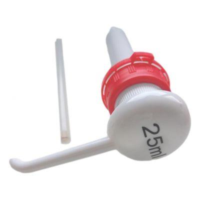 Pompe 25 ml rouge pour bidon de 5L - Anios