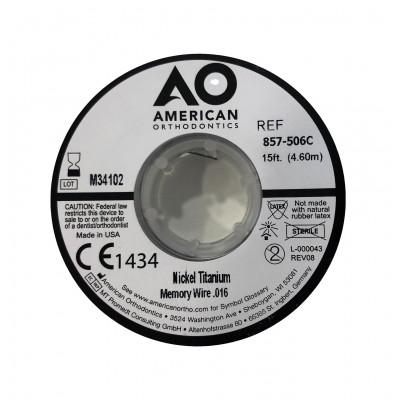 Bobine de fil titane AO pour orthonyxie - 4,60 mètres