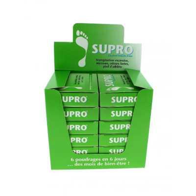 Pack présentoir de 12 Supro Cure anti-transpiration