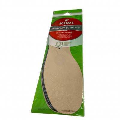 Semelles en cuir véritable - Kiwi