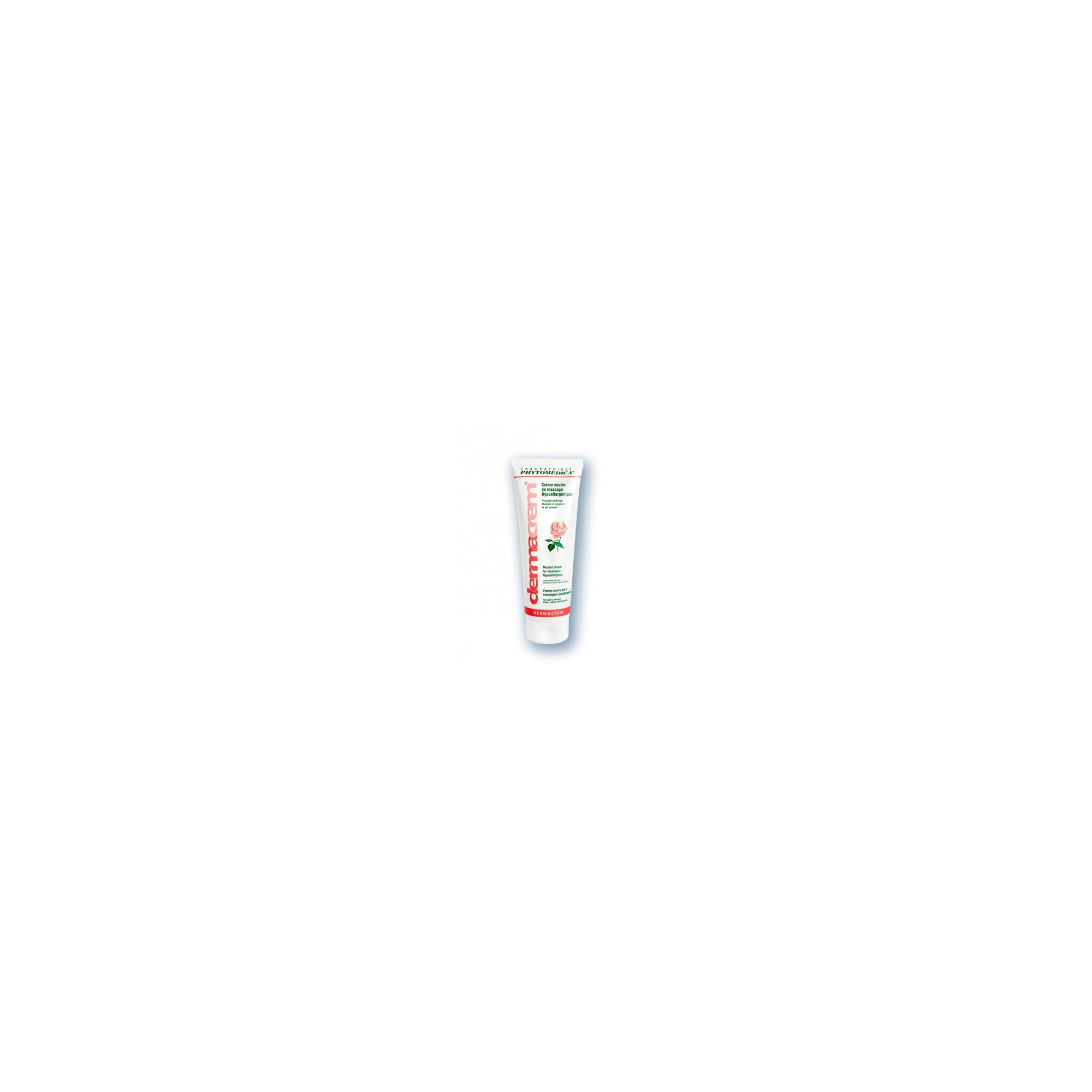 Crème de massage - Parfum Rose - Dermacream