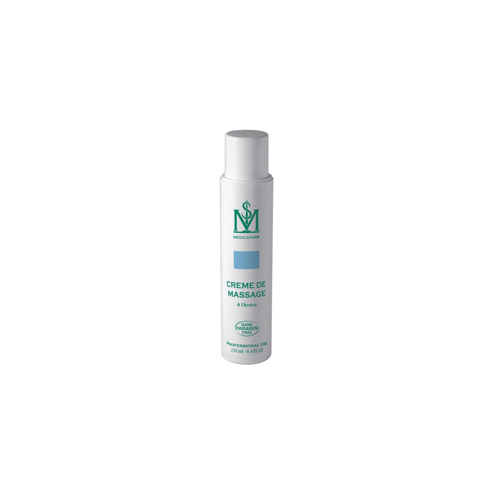 Crème de massage à l'arnica - Flacon Airless 250 ml