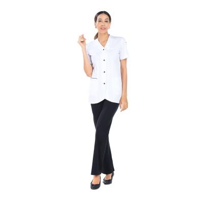 Maelle - Tunique - Manches courtes - Femme - 75 cm