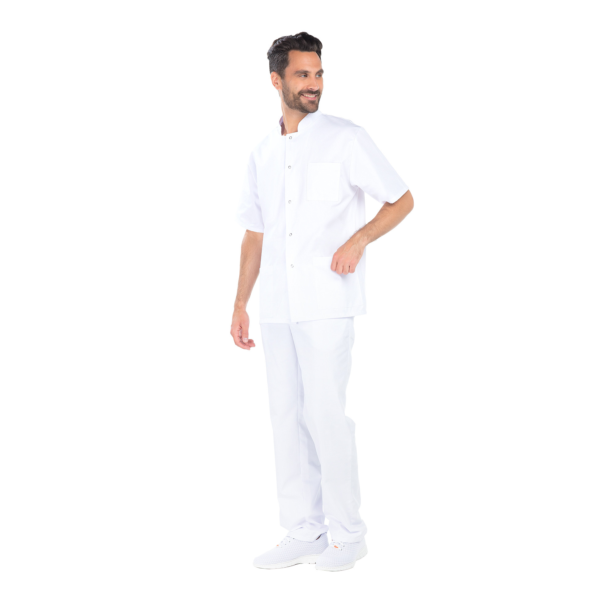 Steph - Tunique - Manches courtes - Homme - 80 cm
