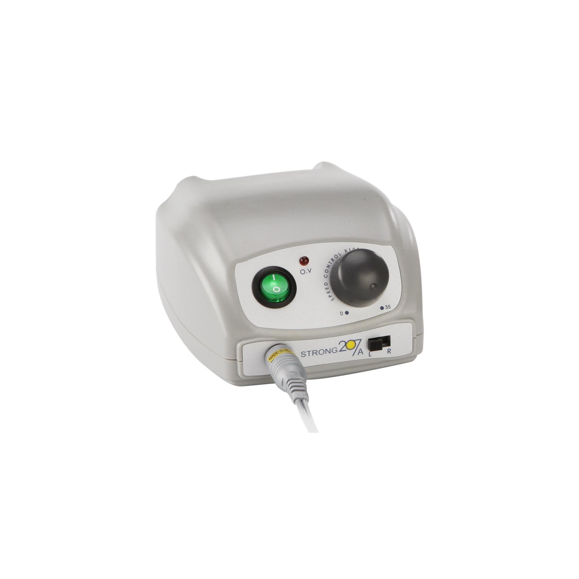 Micromoteur M2 portable sur secteur avec pièce à main
