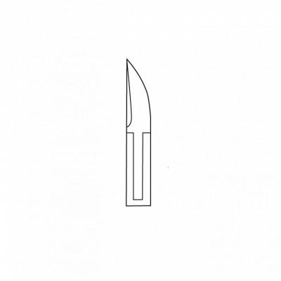 Pince à ongles - 13,5 cm - Spéciale ongles incarnés - Fermoir agrafe plate - Ouverture automatique - Sam