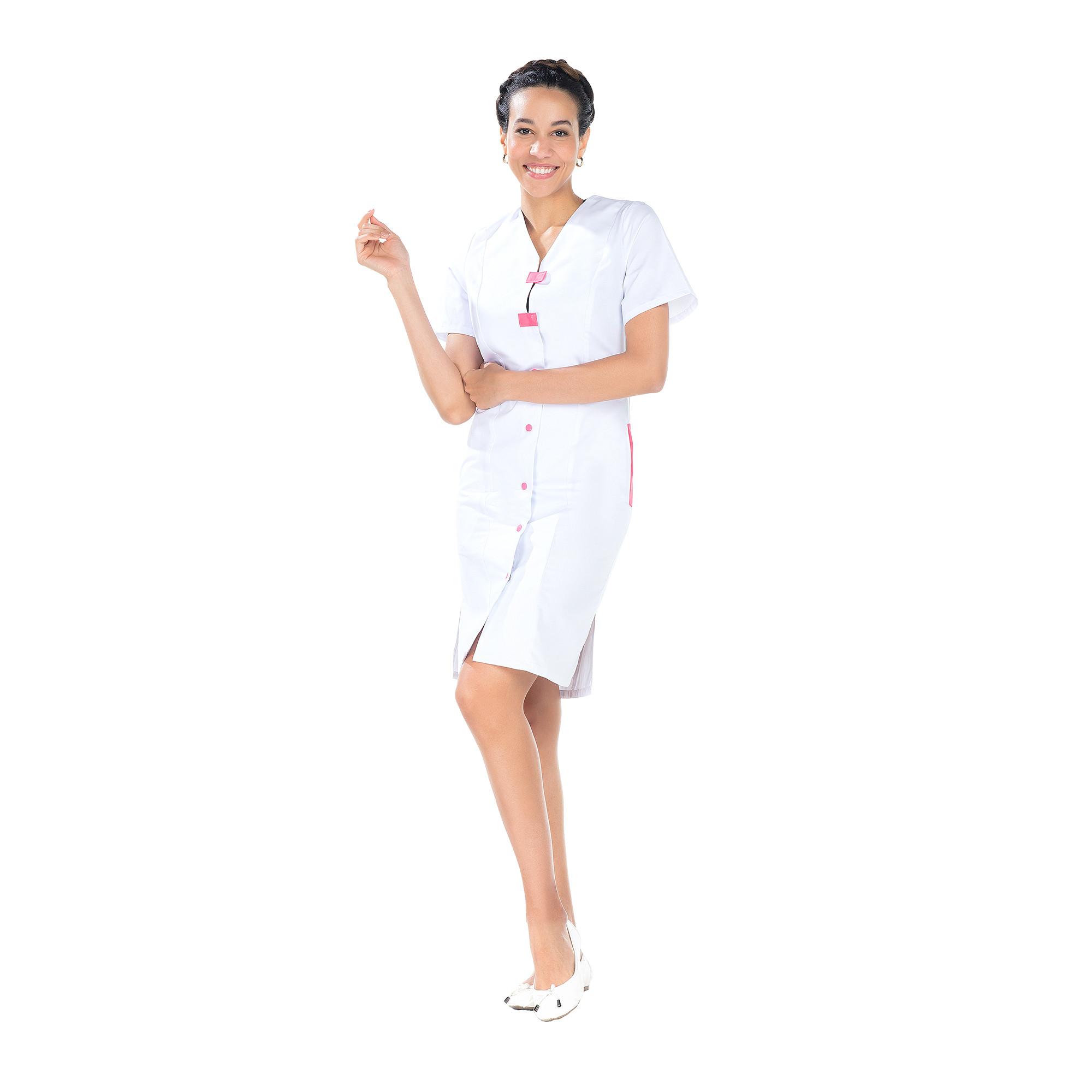 Delphine - Blouse 7/8 - Manches courtes - Femme - 95 cm