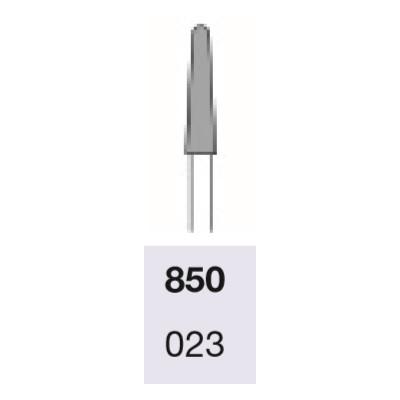 Fraise 850 Busch diamantée standard pour turbine - Lissage des callosités et des ongles - Grain moyen - 2,3mm