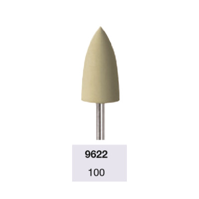Fraise 9622 polissage spéculaire des ongles