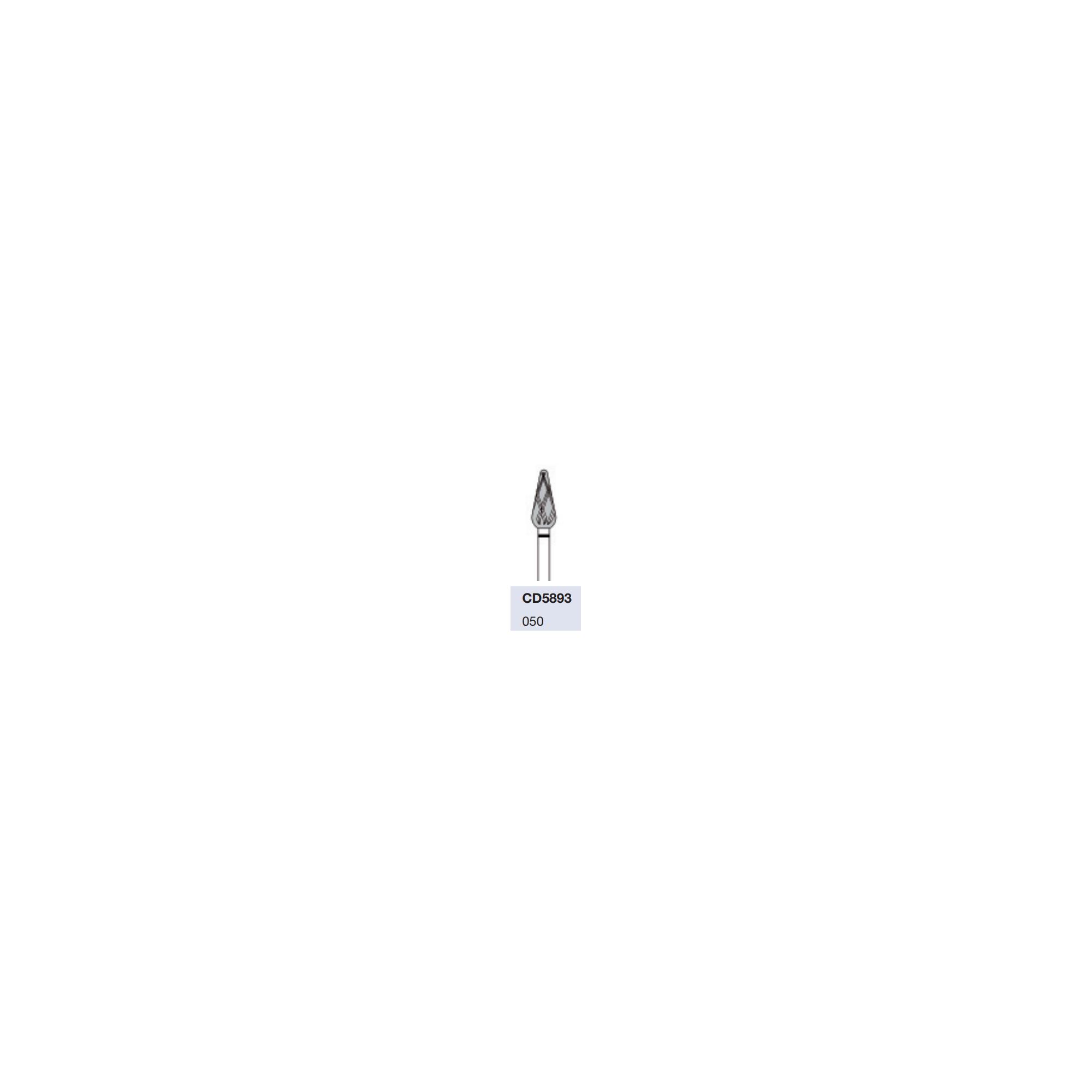 Fraise CD5893 Diamant - Abrasion des callosités dures - 5mm