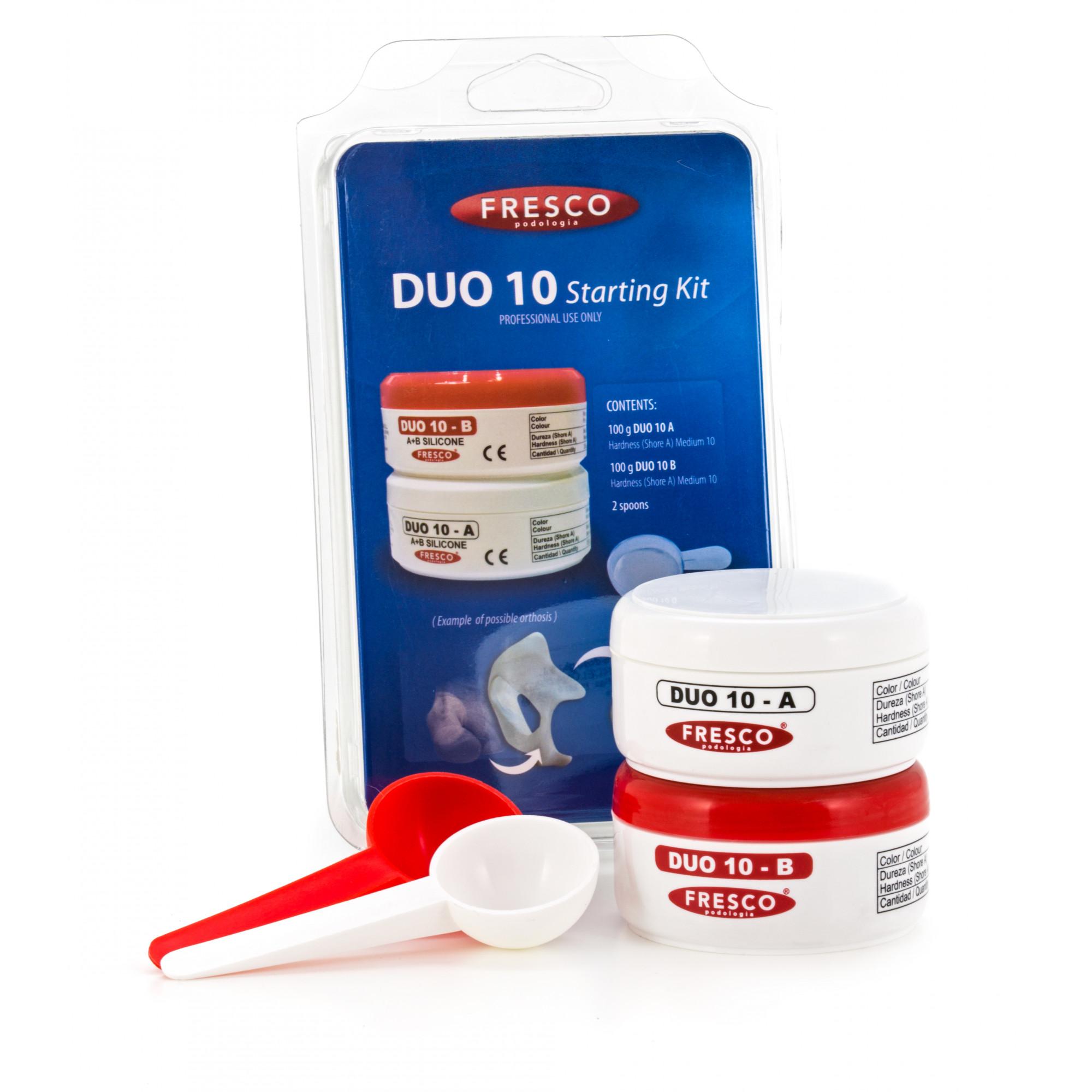 Pack de démarrage - Silicone DUO 10 - A + B Shore A 10 - Moyen
