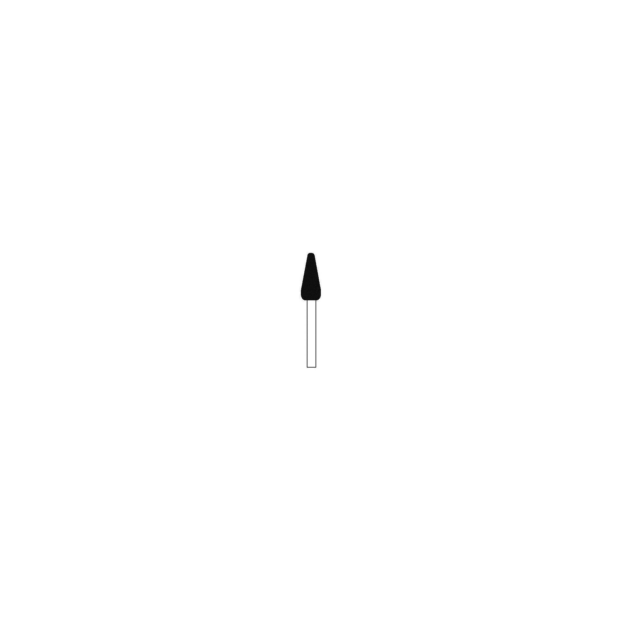 Fraise 45013312 Diamant - Orthoplasties - Grain fin - 2,35mm