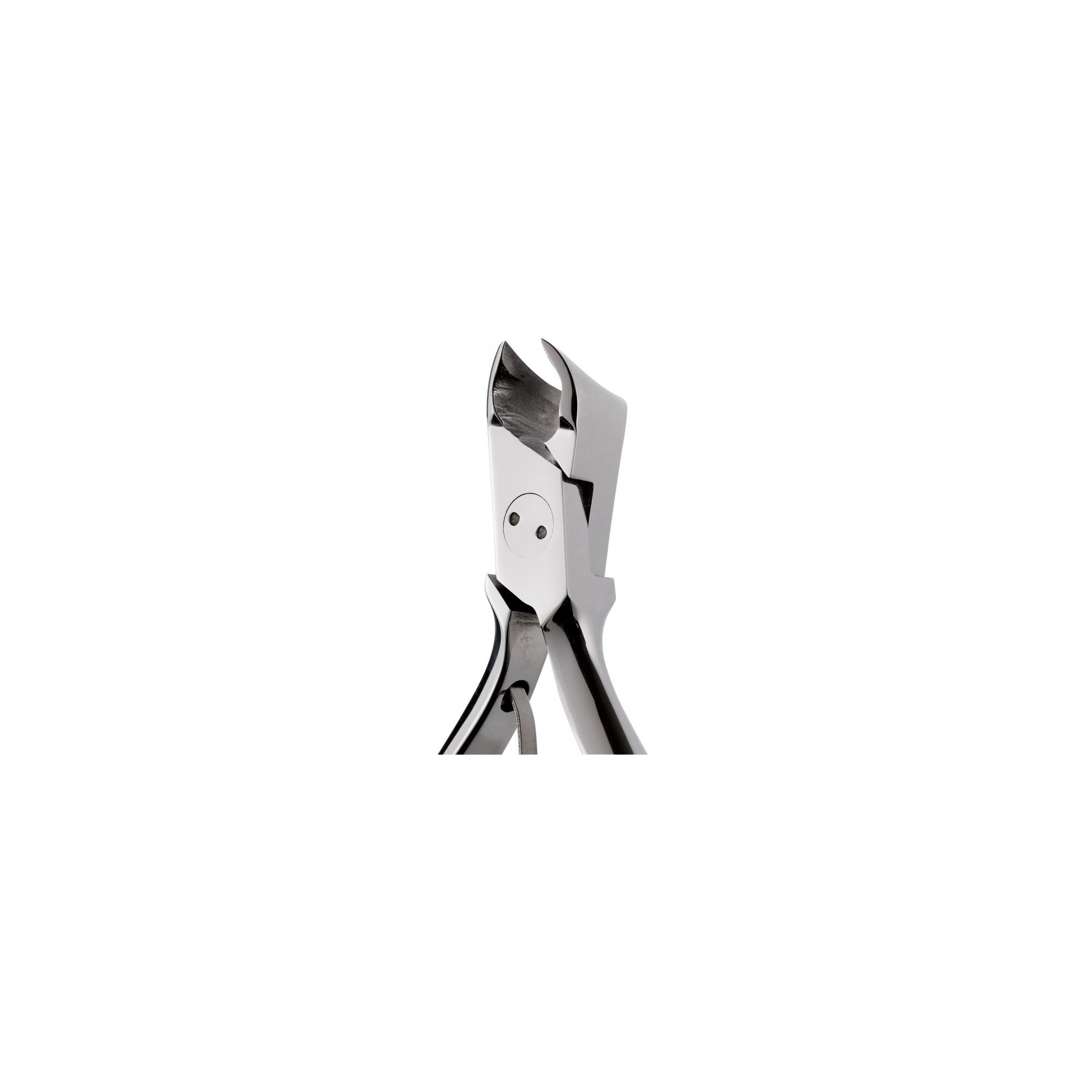 Pince à ongles incarnés morts obliques courts 15 mm coupe arrondie ELITECH by Eloi